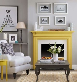 The Best Painted Fireplaces