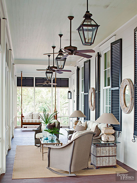inspiring outdoor spaces, outdoor space, porch, porch decor