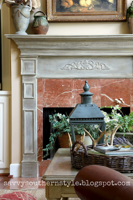 painted mantel 2, The Best Painted Fireplaces