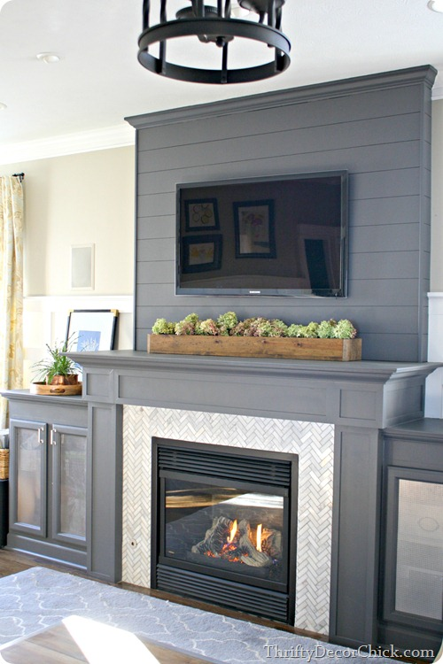 painted mantel 3, The Best Painted Fireplaces
