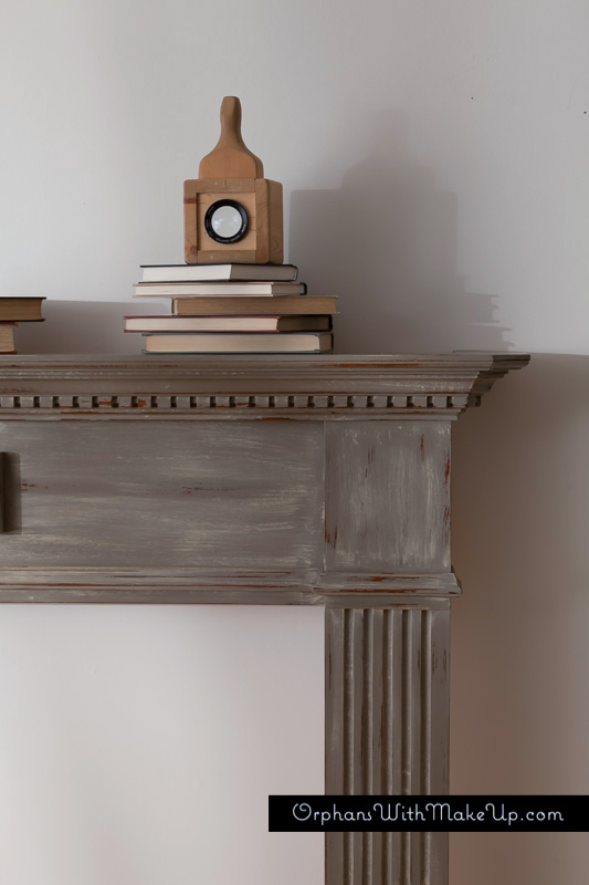 painted mantel, the best painted fireplaces
