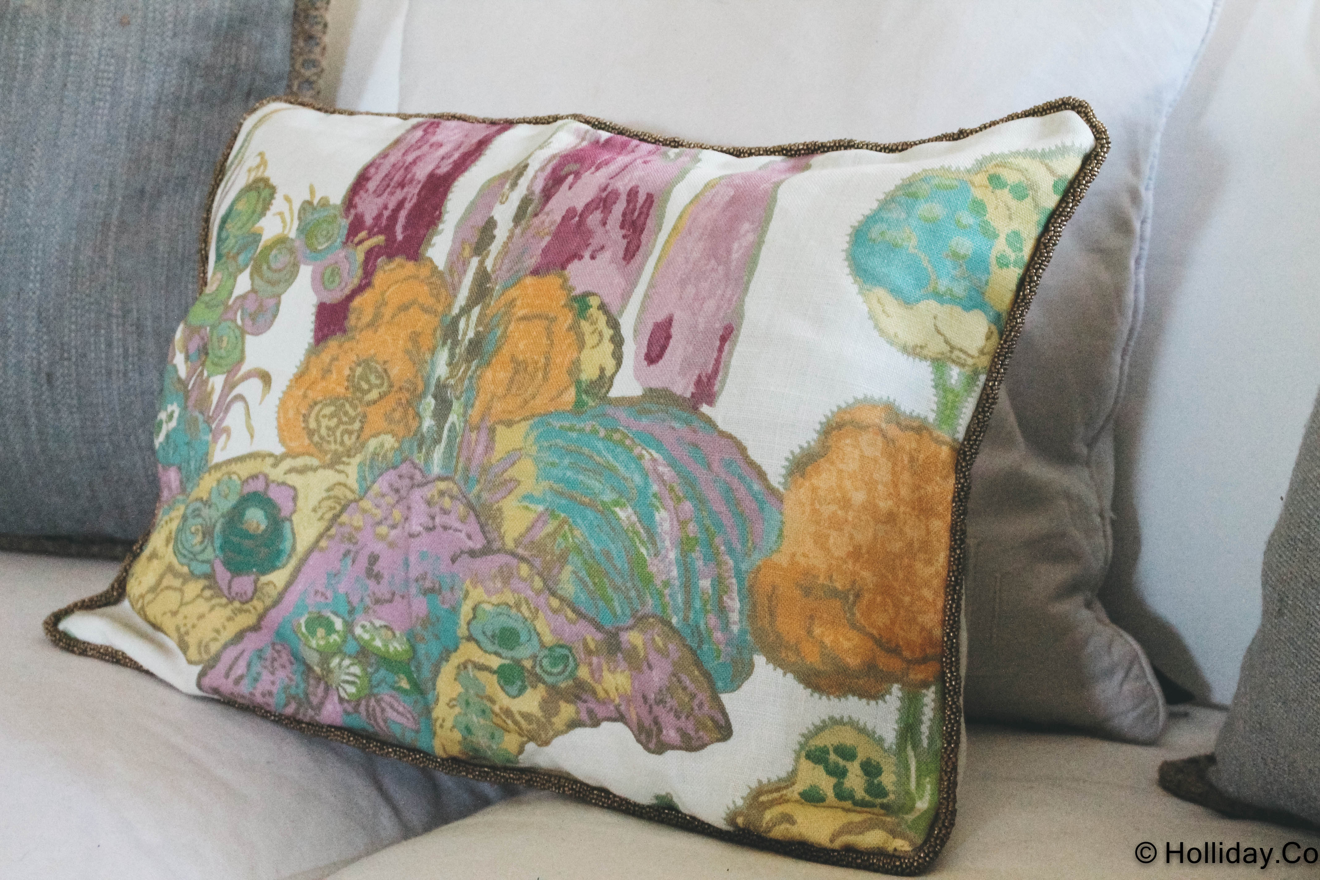 etsy shop, whitney j decor, custom pillows