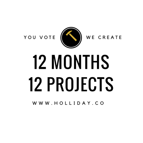12 months 12 projects