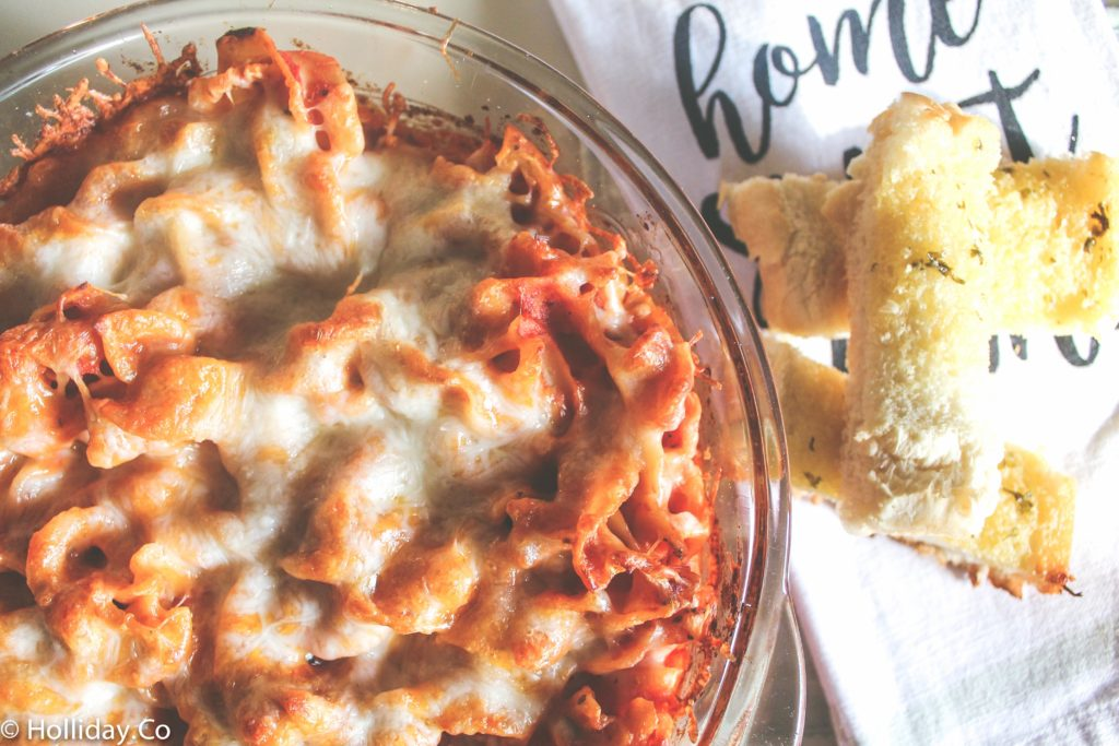 easy baked pasta-5