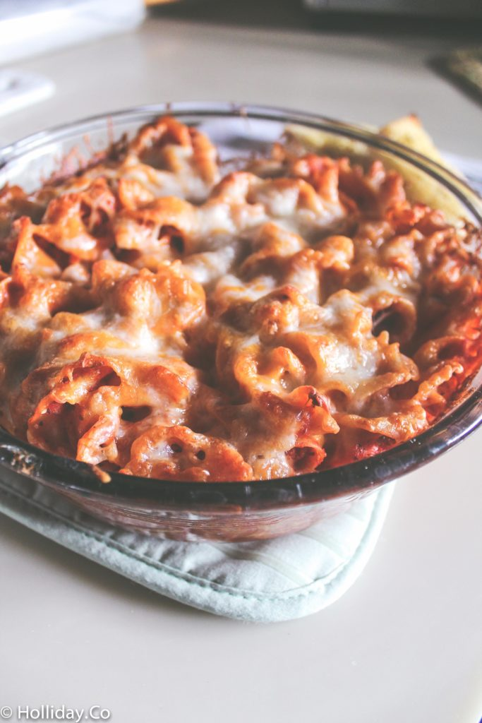 easy baked pasta-7