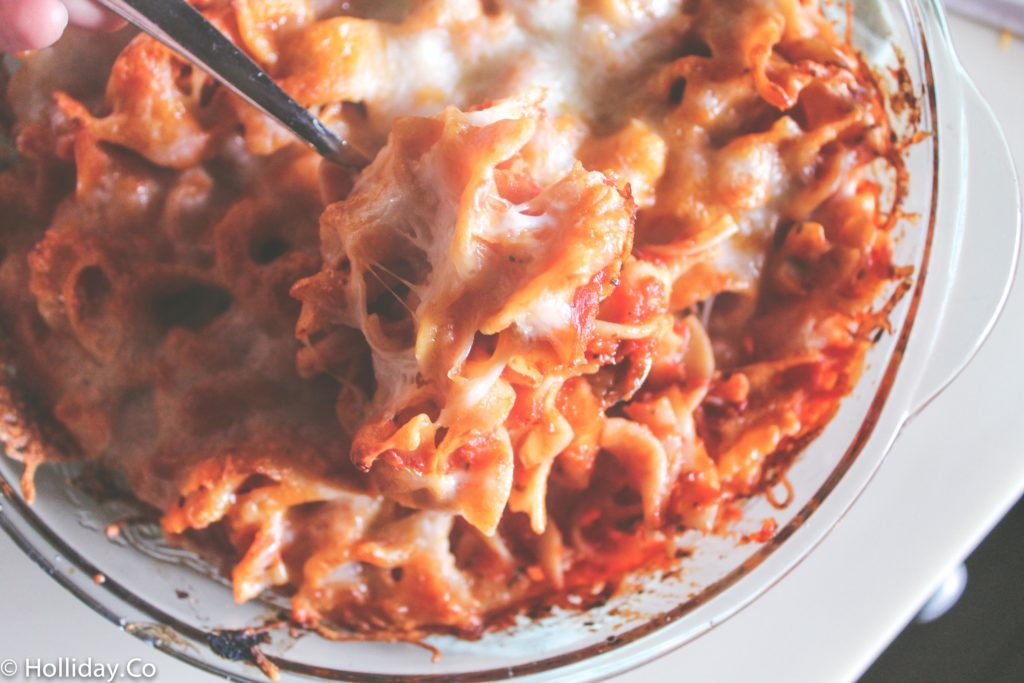 easy baked pasta-9