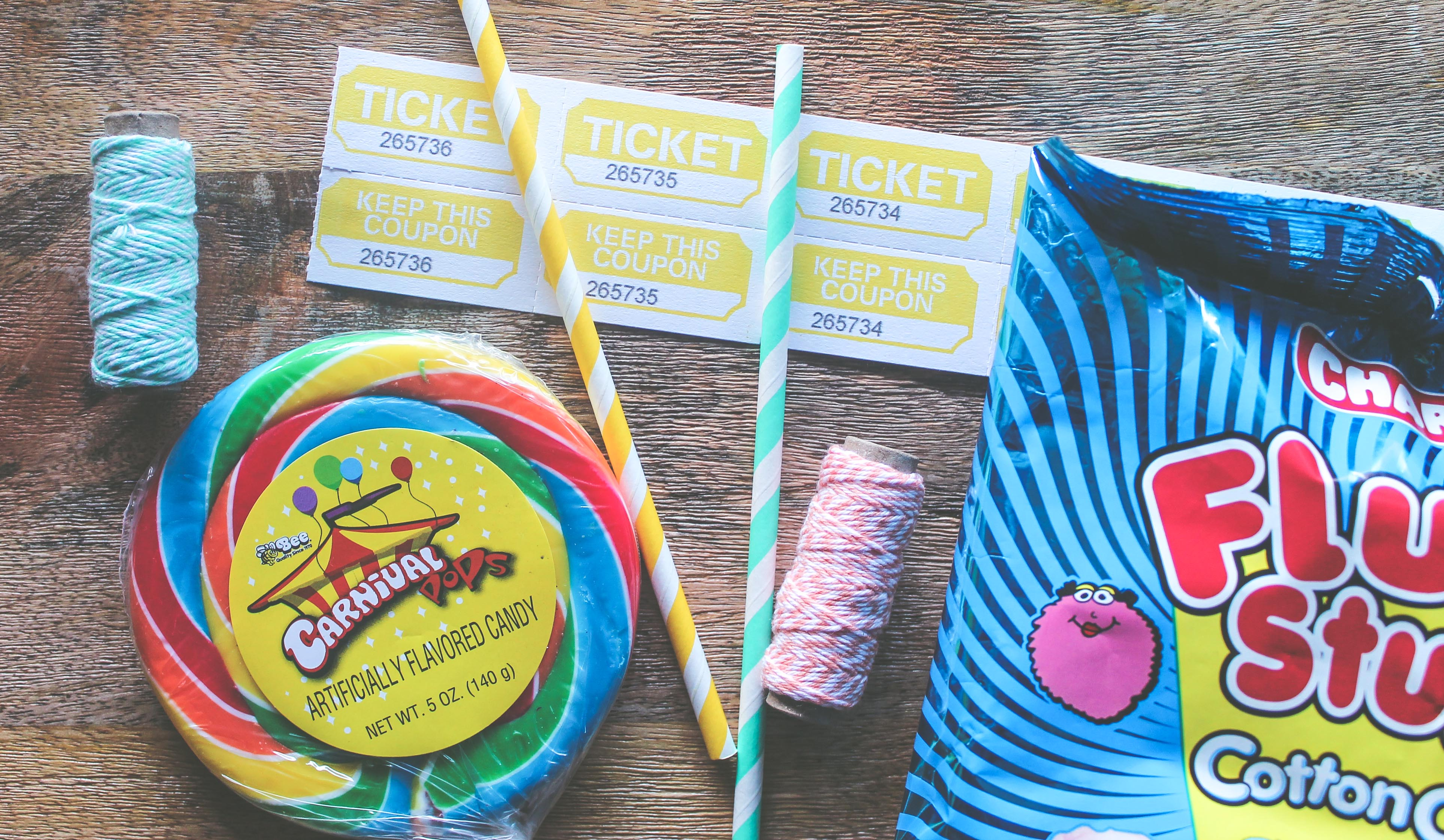 carnival date night, date night ideas, cotton candy, carnival lollipop,