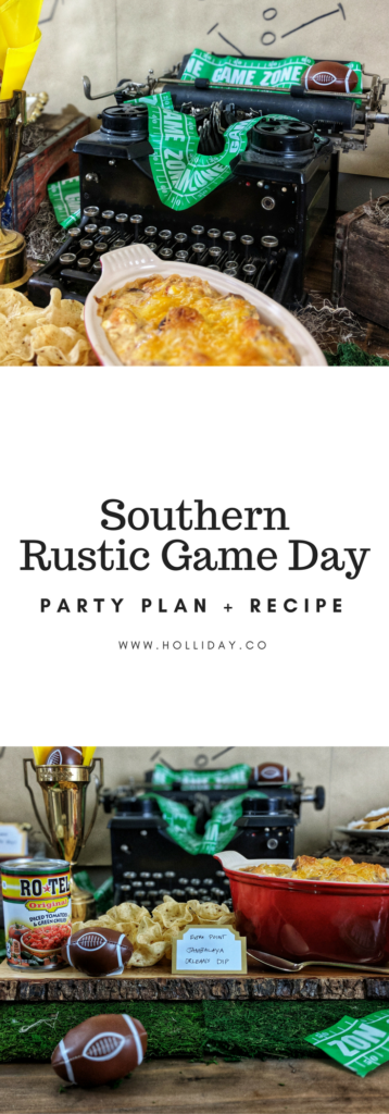 game day, party plan, party food