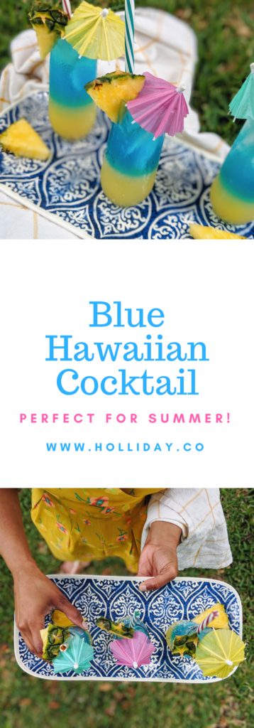 blue Hawaiian, cocktail